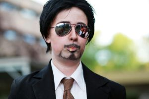 Tony Stark x Pocky? by Altalia