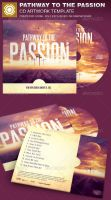 Pathway to the Passion CD Artwork Template by loswl