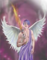 Archangel Zadkiel by dreamstone