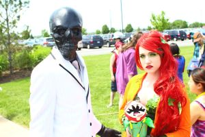 ColossalCon 2014 - Black Mask and Poison Ivy by VideoGameStupid