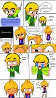Link And Tetra Body Swap by Starfighter364