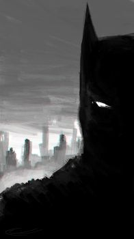 Batman by CurtisWalkerWood