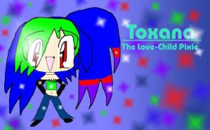 Toxana Love-Child Pixie Of TxF by LunaLyndis