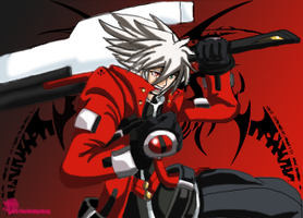 Ragna original size by SaroTheHedgehog