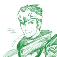 Genji the Sparrow by Luridsun