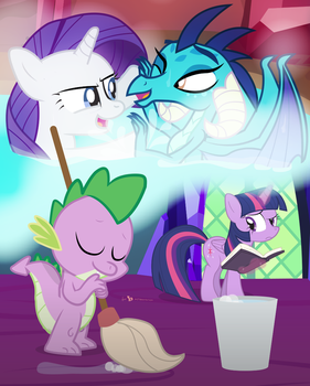 Spike's Adventures in Fantasy Cavern [!D.10] by dm29