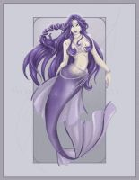 Purple Mermaid by LaTopazora
