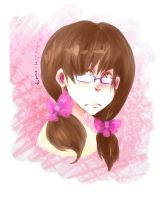 Pink 'nd Glasses by emo-hippie