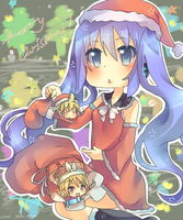 Collab: Vocaloid Christmas by hanahello