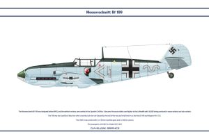 Bf 109 E-3 JG1 1 by WS-Clave
