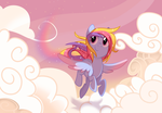 Mid-day Flight by Wicklesmack