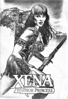 Xena Warrior by kevinesque
