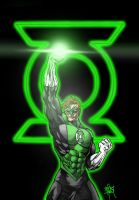 Hal Jordan Green Lantern light by One-Beyond