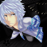 Gintama: Gintoki ll by Dragons-Roar