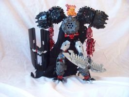 Bionicle MOC: Gallukox by jumpstartautobot