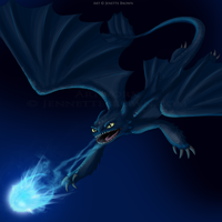 The Night Fury by sugarpoultry