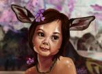 Little Fawn by Mad-Hattie