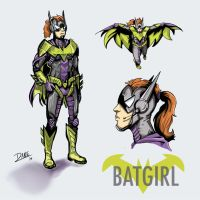 Batgirl Redesign by theDANEtrain