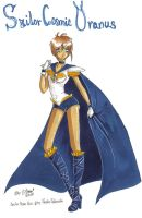 Sailor Cosmic Uranus :New: by GorgeousPixie