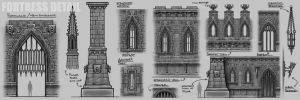 Fortress Concept Details by neuromancer2