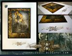 Fine Art Print of Eros et Thanatos by Yoann-Lossel