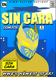 Sin Cara Comic Book Cover by the-JACKANAPES