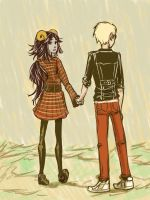 dave and aradia by HestersTowel