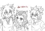 Pantherlily, Carla and Happy WIP. by charswarrenxo