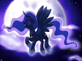 Lullay Moon Princess by Pon3Splash