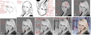 Snow Elf Study Making of by Matou31