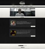 Vostok Games Web Site by rikozi