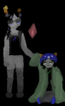Equis and Nepeta: Be Moirails by Kandykanee
