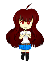 ChibiCorrine OC.:Commish:. by Flidds