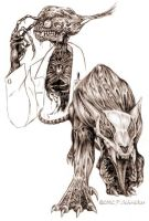 The Professor and the Pitbull by nachtwulf