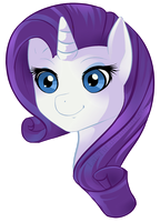 My Little Pony: FiM Rarity by Lai-Tut