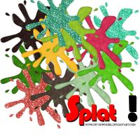 Splat choose a color by downgirl