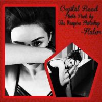 Crystal Reed Photo Pack -the vampire photoshop by ForeverSmile13
