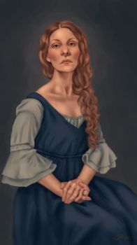 Painting by Vixtrolla