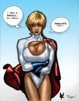 Power Girl by TiagoFox