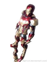 Iron Man Mark 42 8 by 0PT1C5