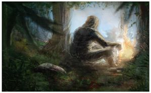 forest dude by ndr400k