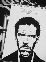 Gregory House by manupaivaellon