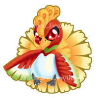 Ho-oh v3 by Clinkorz