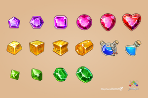 New Icons Element Rush by Papymeka