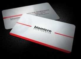 Round Business Card by xnOrpix