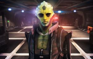 Thane Krios by LoveStruck2