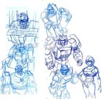 old sketch from  base on tf movie by southpawdragon