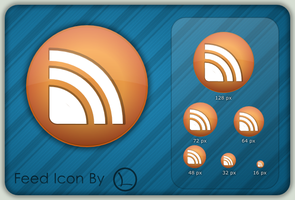 RSS feed icon by lopagof