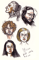 People Sketches by Capella336