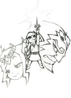Wind Waker Sketch by CPTBee